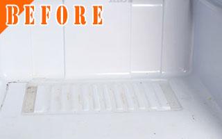 冷蔵庫の整理整頓[Before写真]