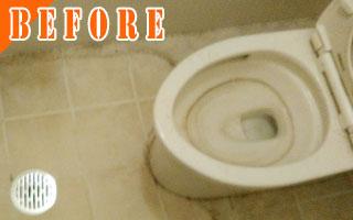 トイレのクリーニング[Before写真]