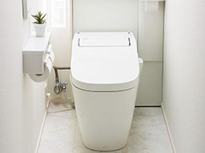 トイレのクリーニング写真